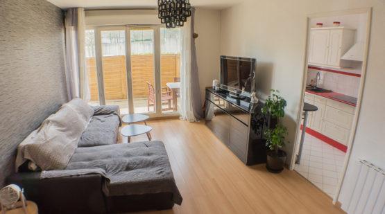 Vente appartement 2 pièces avec terrasse, Jouy-le-Moutier - Effectimmo