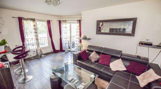 Vente appartement - Cergy, 3 pièces de 55 m² - Effectimmo