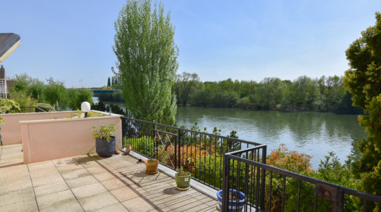 Vente appartement 132m2, Cergy-Port - Effectimmo