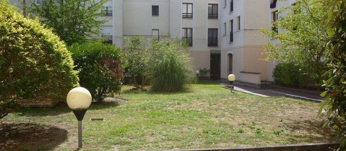 Image Cergy, Joli 3 pièces avec vue sur jardin