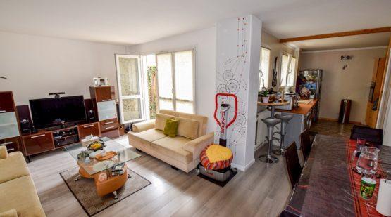 Vendu - Cergy, Spacieux 3 pièces de 72m2 avec jardin - Effectimmo