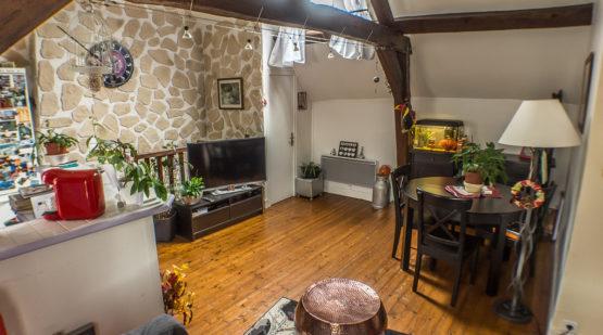 Vente appartement - Maurecourt 3 pièces en duplex - Effectimmo