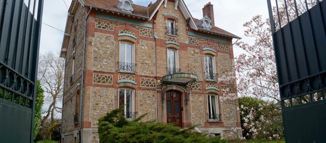 Image Verneuil-l'Etang, splendide meulière