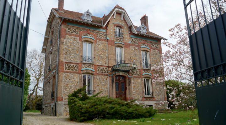 Verneuil-l'Etang, splendide meulière