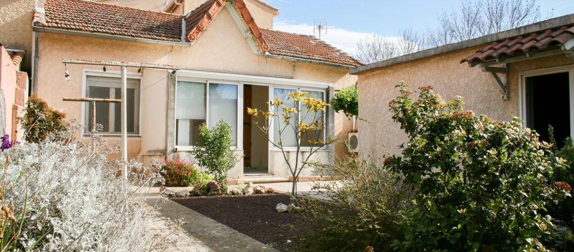 Image L'Isle-Sur-La-Sorgue, maison de plain pied de 67m2 en centre-ville