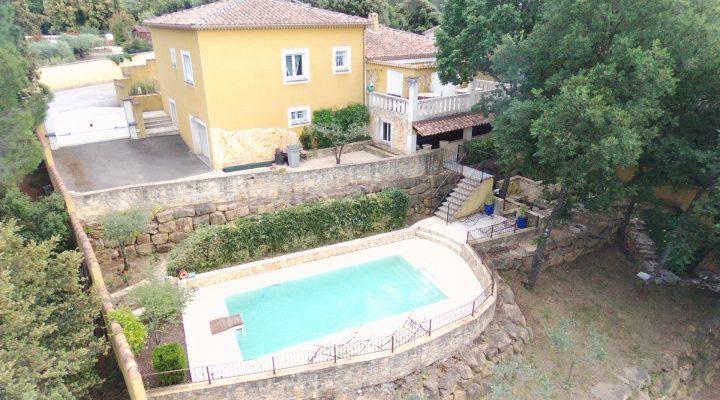 Image Connaux, Très belle villa récente de 144m²  avec vue imprenable