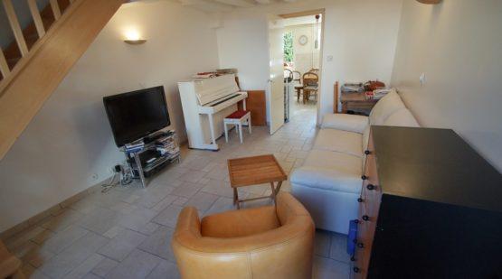 Vendu - Au cœur de Moret, Maison avec 3 chambres et jardin - Effectimmo