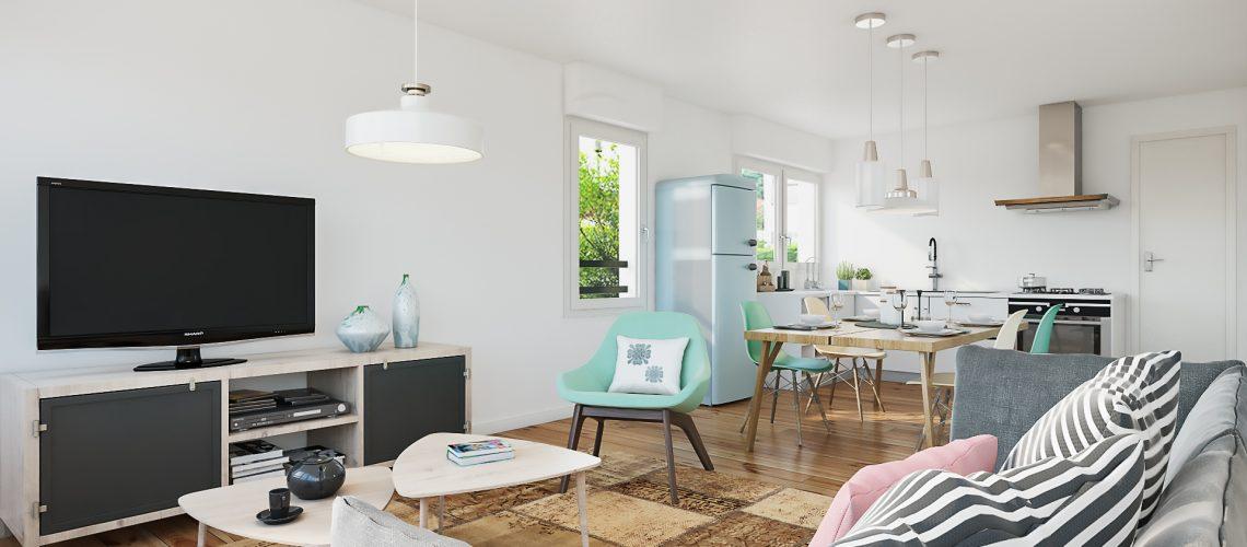 Image Conflans-Sainte-Honorine, Appartement de 3 Pièces rénové