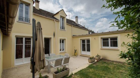 Vente maison familiale rénovée avec jardin, Melun - Effectimmo