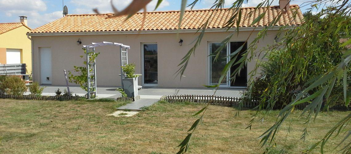 Image Corcoué-sur-Logne, charmante maison de plain-pied sur terrain de 720m2