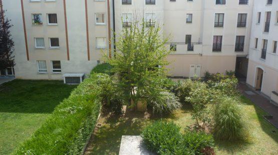 Vente - Cergy, Joli 3 pièces avec vue sur jardin - Effectimmo