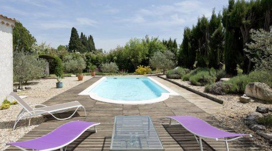 Vente maison - St-Rémy-de-Provence, villa avec piscine - Effectimmo