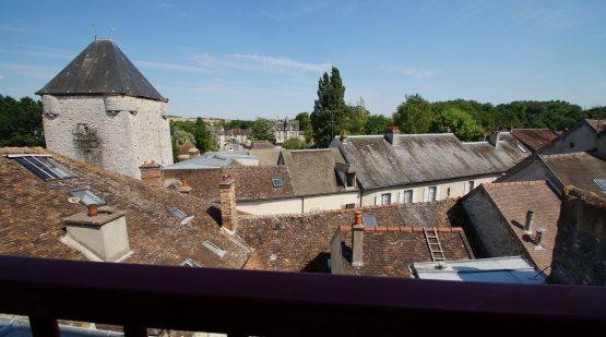 Vendu - Moret-sur-Loing, Duplex avec vue exceptionnelle - Effectimmo