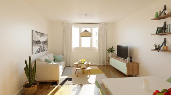 Vente appartement 57m2 à rénover Achères - Effectimmo