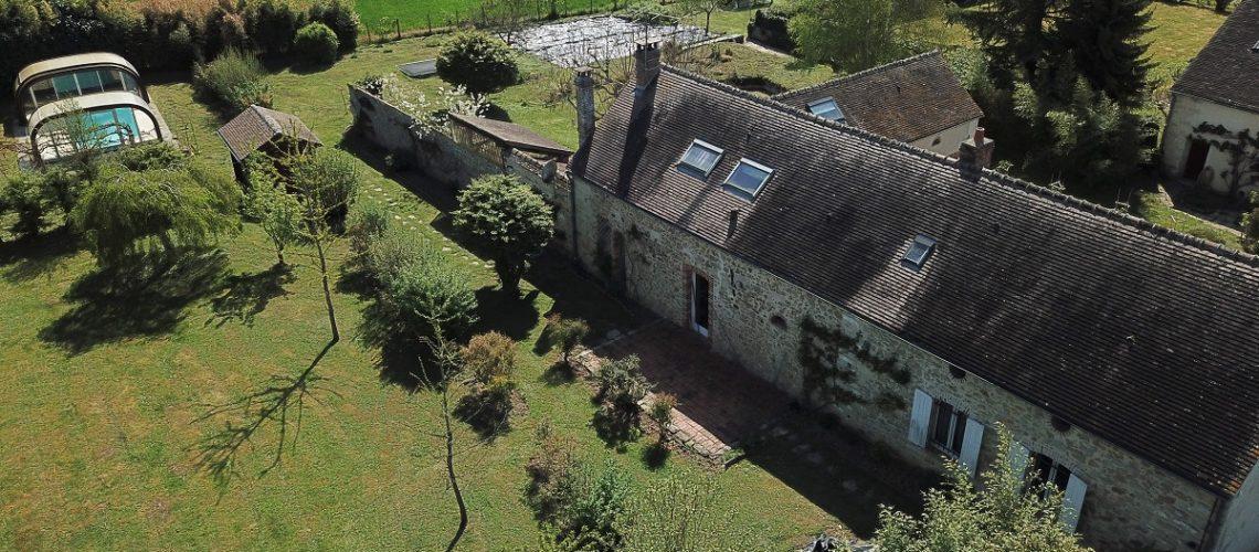 Image Fontainebleau, Vaste demeure de caractère avec piscine et dépendance