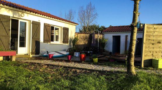 Vente maison plain-pied 70m2 Notre-dame-de-monts -Effectimmo