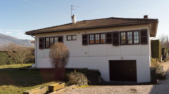 Image Sassenage, Jolie maison sur sous-sol total de 90m2 avec jardin