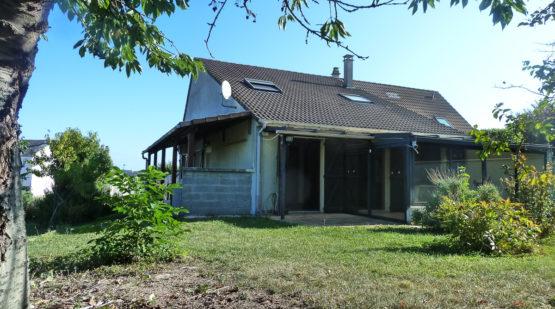 Vente maison sur sous-sol total avec jardin Cormontreuil - Effectimmo
