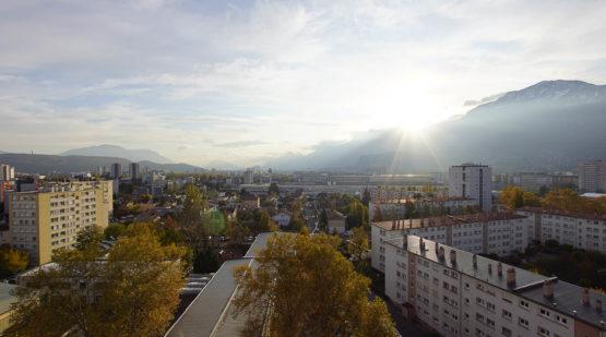 Vente appartement 3 pièces 61m2 dernier étage Grenoble - Effectimmo