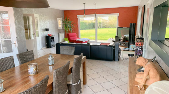 Vente maison 235m2 piscine jacuzzi jardin Beine-Nauroy - Effectimmo