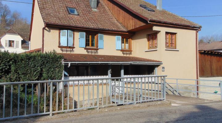 Bourbach-le-Bas, Beaux volumes pour cette maison familiale rénovée