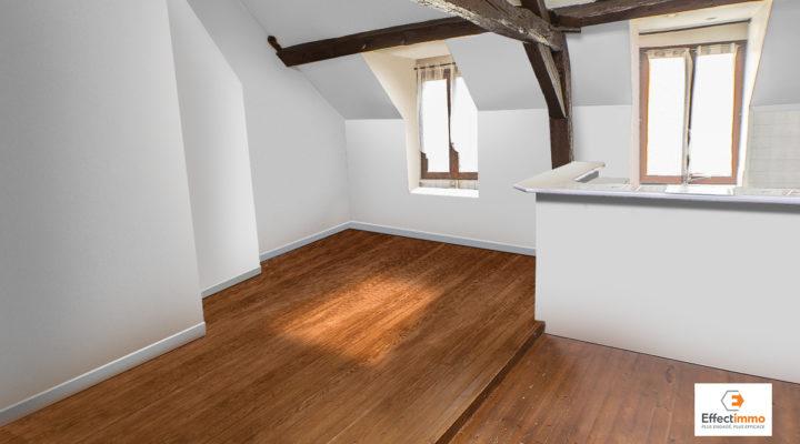 Proche Andrésy, Beau Duplex rénové alliant charme et confort moderne