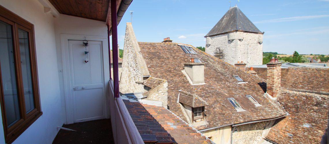 Image Moret-sur-Loing, Duplex de charme avec vue exceptionnelle