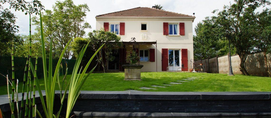 Image Chartrettes, Maison récente de 7 pièces alliant charme et esprit contemporain