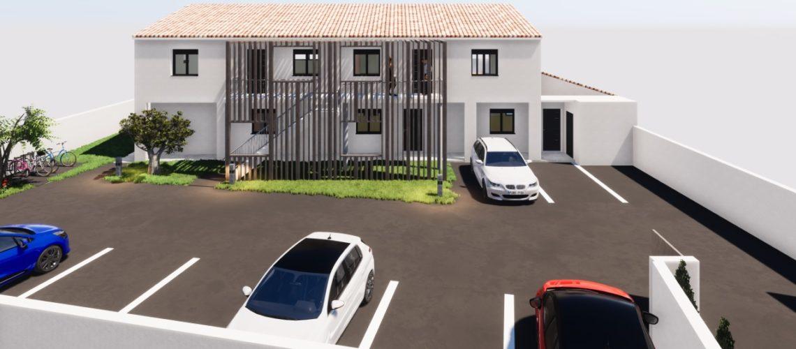 Image L'Isle-sur-La-Sorgue, Superbe 3 pièces en VEFA de 60m² avec jardin