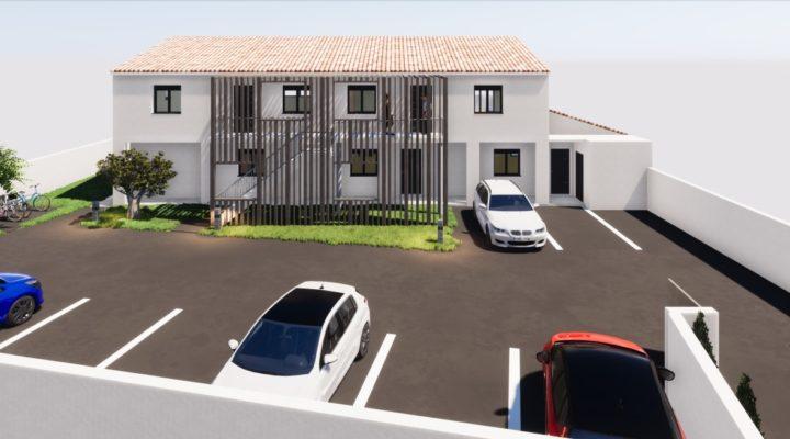 L'Isle-sur-La-Sorgue, Superbe 3 pièces en VEFA de 60m² avec jardin