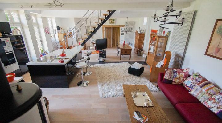 Image Proche Moret-sur-Loing, Belle longère de 190 m2 rénovée en loft contemporain