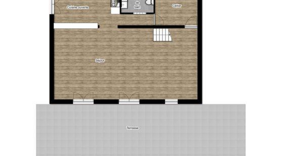 Vendu maison - Osny, Maison 180m2 - Effectimmo