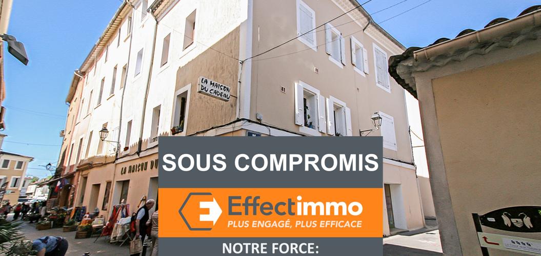 Image L'Isle-sur-la-Sorgue, Charmant 3 pièces de 63m2 en Centre-ville.