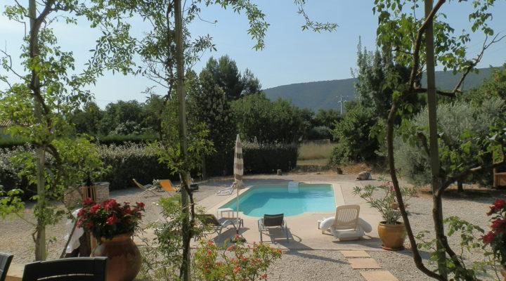 Lacoste, Vue unique sur le Luberon pour cette  villa de 140 m²