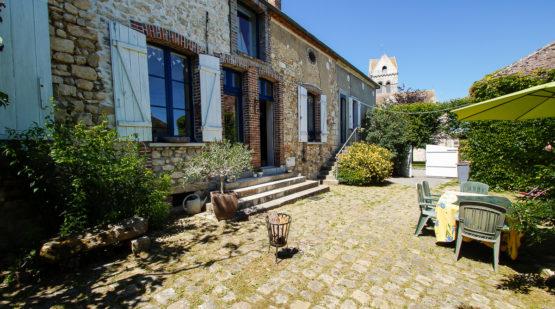 Vendu maison 190m2 rénovée en loft Moret-sur-Loing - Effectimmo