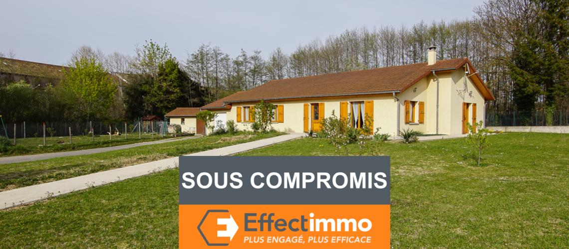 Image St-Siméon-de-Bressieux, Spacieuse maison plain-pied de 2007 avec grand jardin