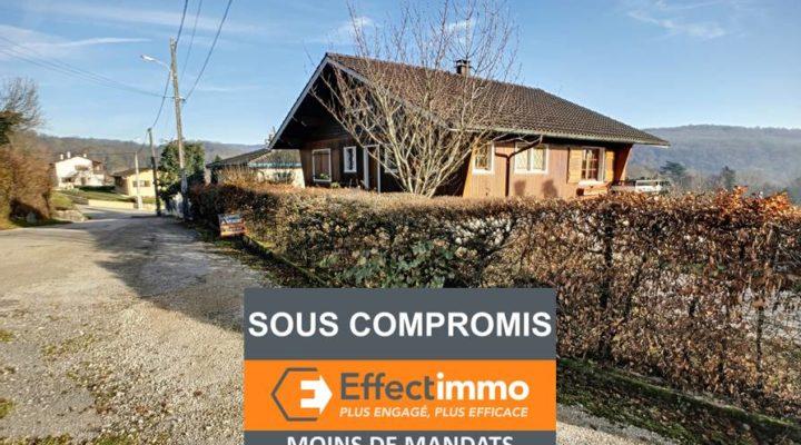 Image Neuville-sur-Ain, Authentique chalet familial de 112m2 avec vue dégagée