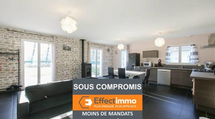 Image La Bâtie-Divisin, Belle maison plain-pied contemporaine de 84m², très lumineuse et économe
