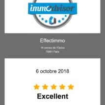 Octobre 2018 – Avis de nos clients, la récompense de notre engagement…