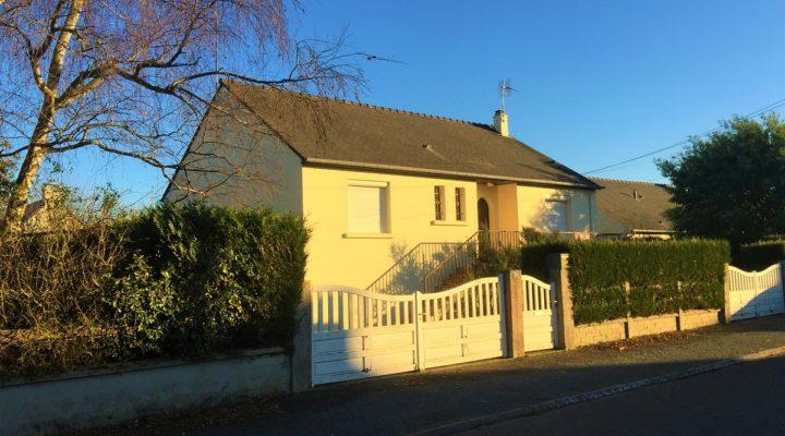 Saint-Briac-sur-Mer, charmante maison de plain-pied sur sous-sol total